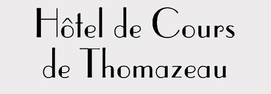 Hotel de Cours de Thomazeau