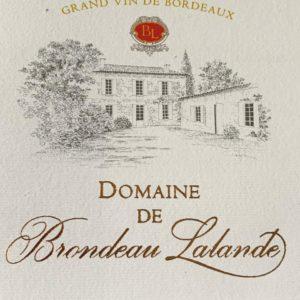 Domaine de Brondeau Lalande